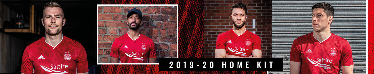2019/20 Home Kit on Aberdeen FC