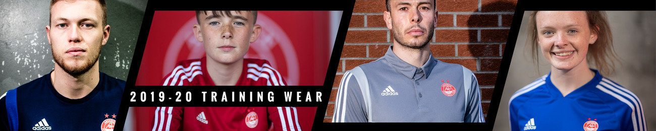 Training Wear  on Aberdeen FC