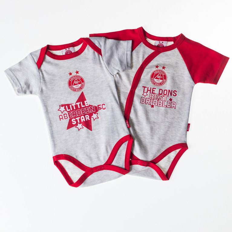 2 PACK DRIBBLER BODYSUIT