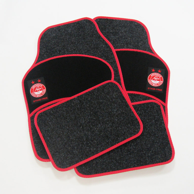 4 PIECE AFC CAR MAT