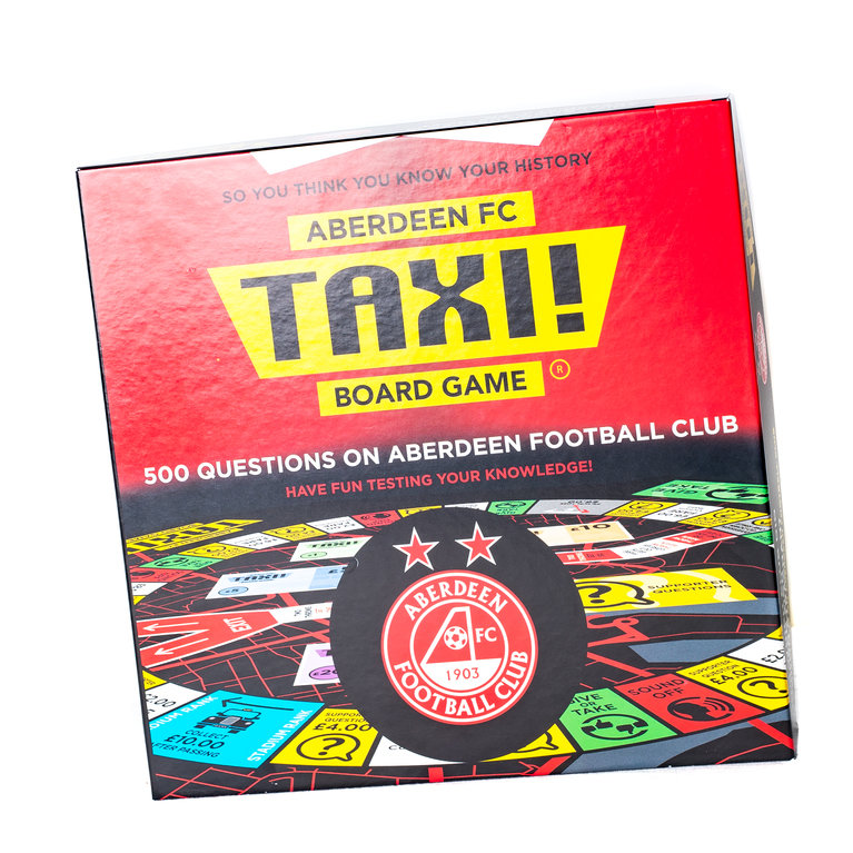 ABERDEEN FC TAXI BOARD GAME