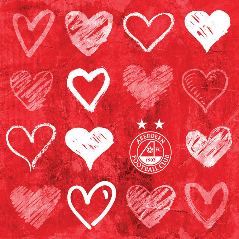 ABERDEEN HEARTS CARD