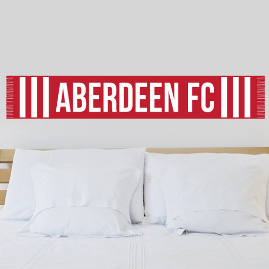 ABERDEEN SCARF WALL STICKER