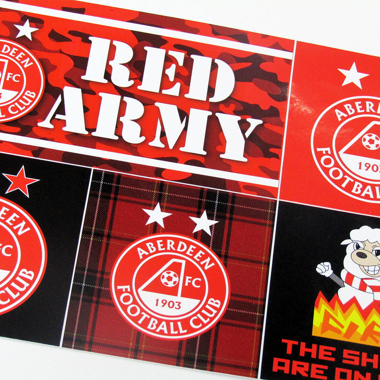 AFC A5 STICKER SET
