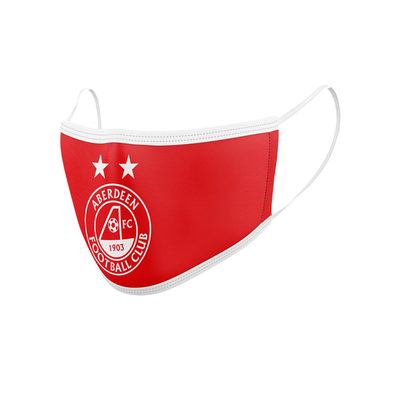 AFC CREST FACEMASK RED