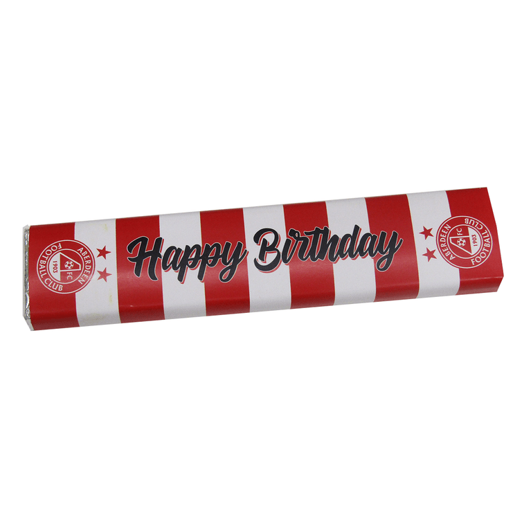 AFC HAPPY BIRTHDAY CHOCOLATE