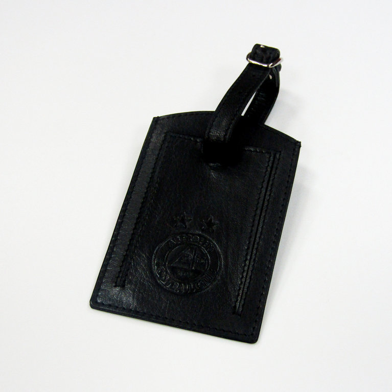 AFC LEATHER LUGGAGE TAG