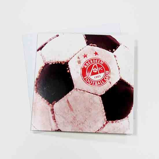 AFC RETRO BALL GREETING CARD