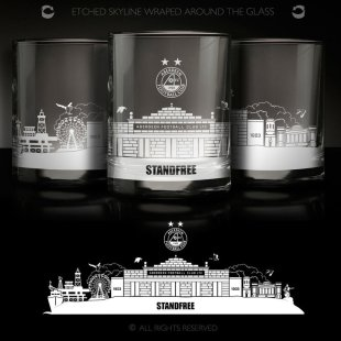 AFC SKYLINE WHISKY GLASS