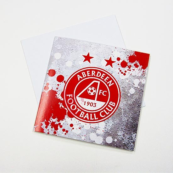AFC SPLAT CREST GREETING CARD