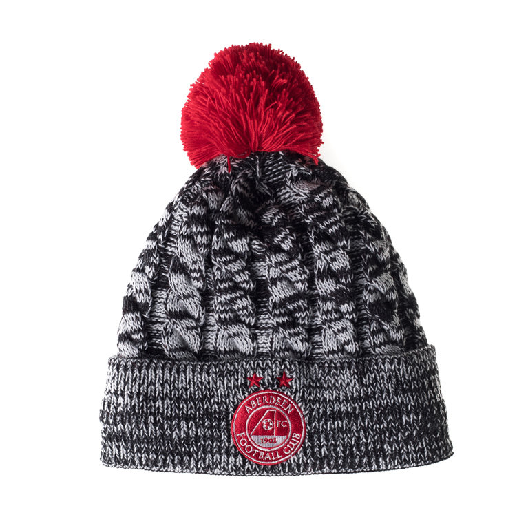 BORO BOBBLE HAT GREY