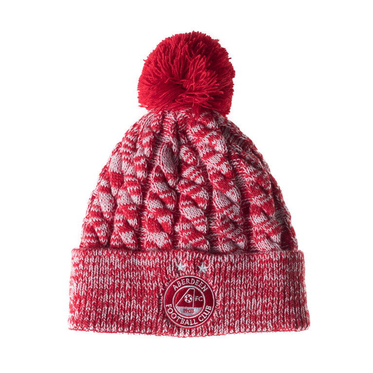 BORO BOBBLE HAT RED
