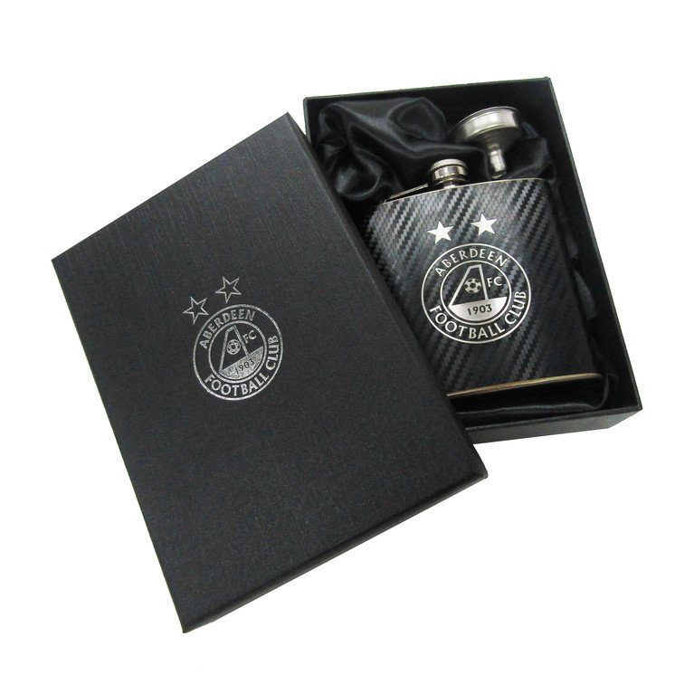 CARBON HIP FLASK