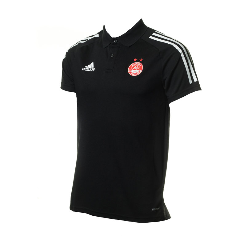 AFC JUNIOR POLO SHIRT BLACK