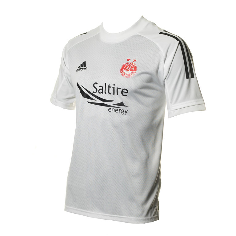 ADIDAS JNR TRAINING JSY WHITE