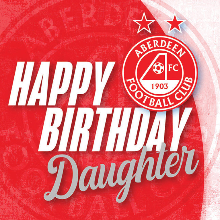 CREST DAUGHTER BIRTHDAY CARD