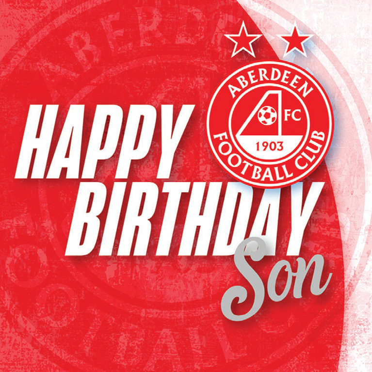 CREST SON BIRTHDAY CARD