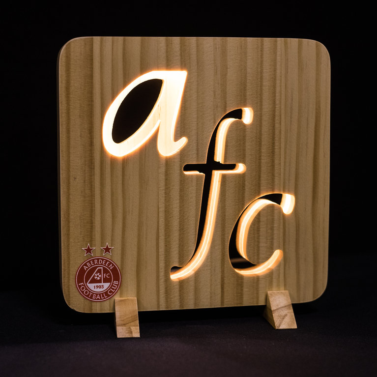 CUT OUT WOODEN NIGHT LIGHT WHI