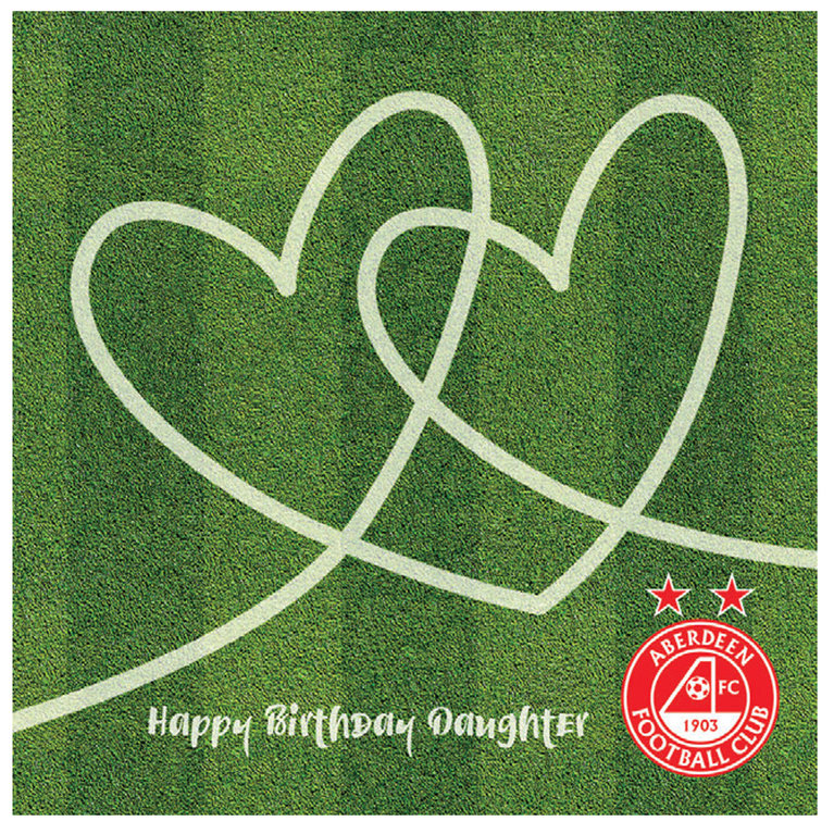 DAUGHTER HEARTS TURF CARD