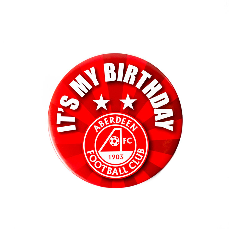 DONS GIANT BIRTHDAY BADGE