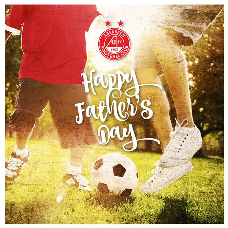 FATHERS DAY KICK ABOUT CARD