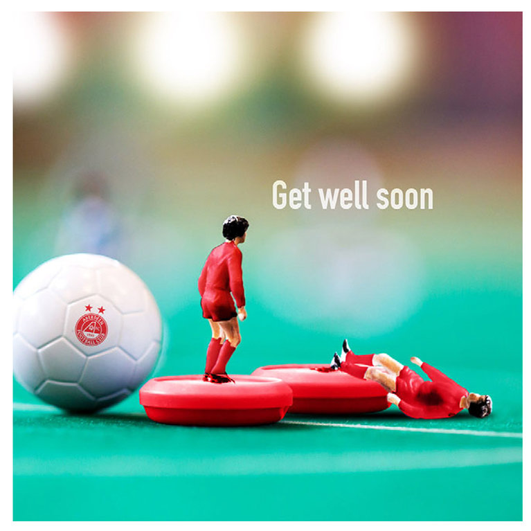 GET WELL SOON MATE CARD