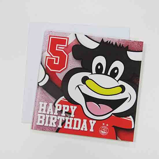 HAPPY BIRTHDAY ANGUS 5 CARD