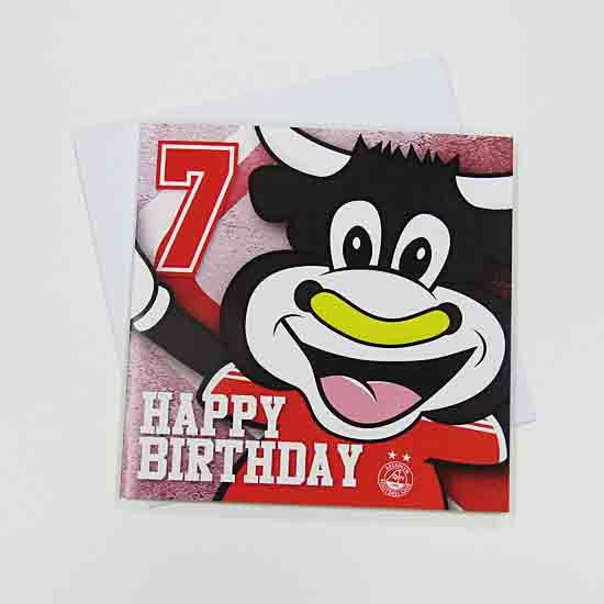 HAPPY BIRTHDAY ANGUS 7 CARD