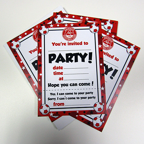 HLD 10 PARTY INVITES