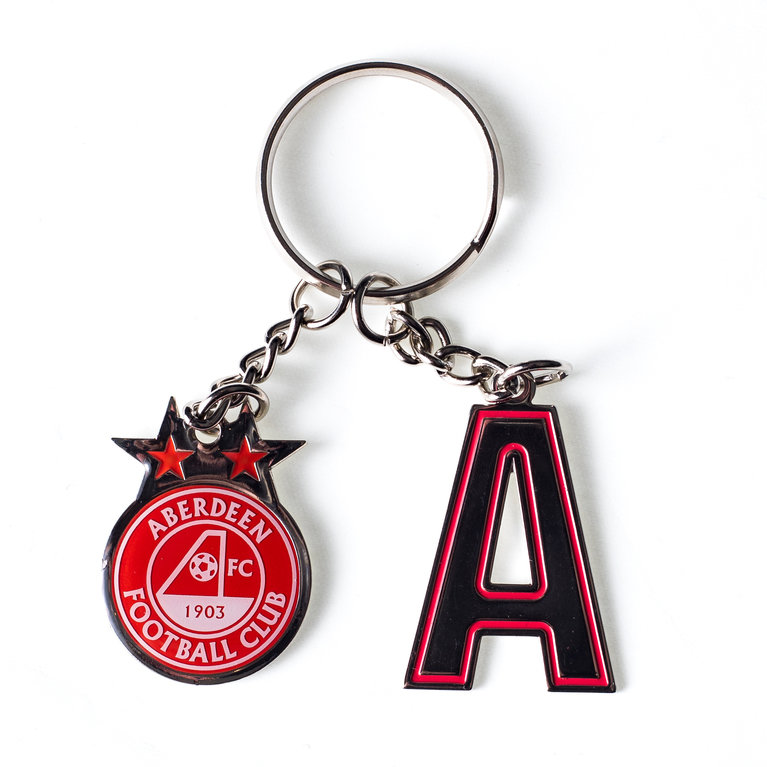 INITIAL KEYRING A