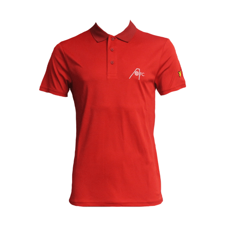 L&S AFC GOLF STRIPE POLO ADULT