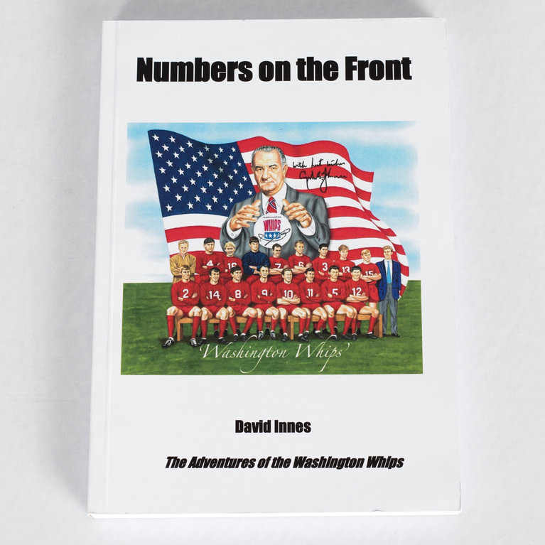 NUMBERS ON THE FRONT BOOK