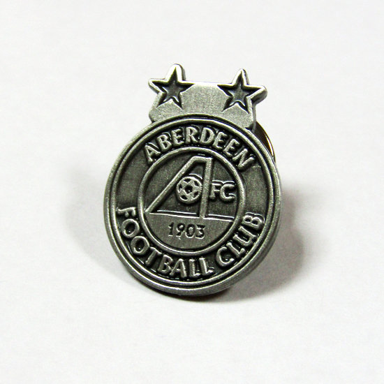 PEWTER CREST PINBADGE