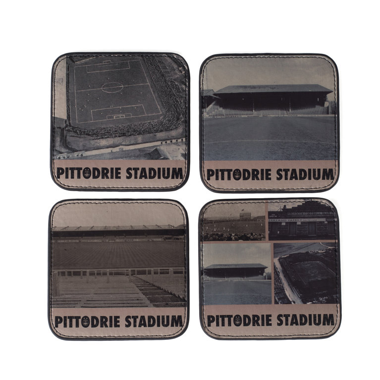 PITTODRIE 4 PACK COASTERS