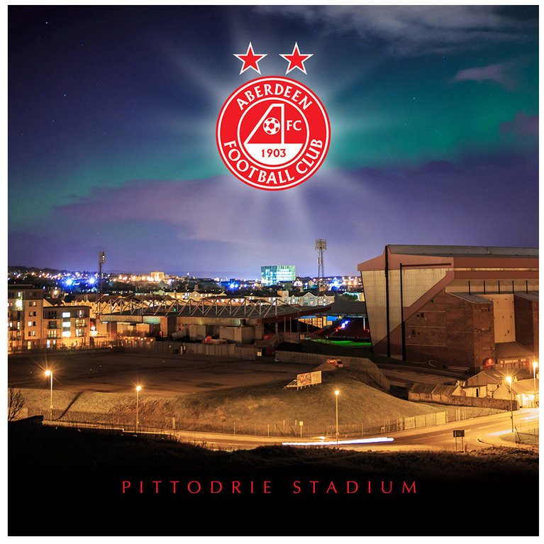 PITTODRIE NORTHERN LIGHTS CARD