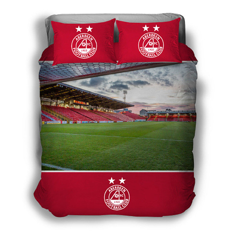 PITTODRIE STADIUM DOUBLE DUVET