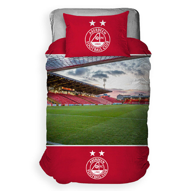 PITTODRIE STADIUM SINGLE DUVET