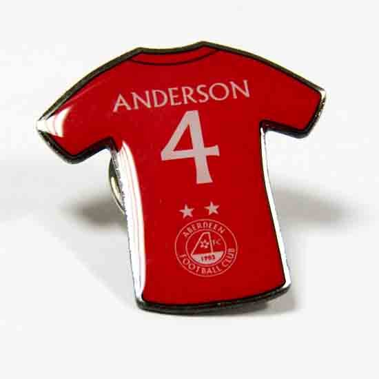 PLAYER PINBADGE - ANDERSON
