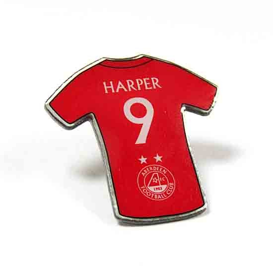 PLAYER PINBADGE - HARPER