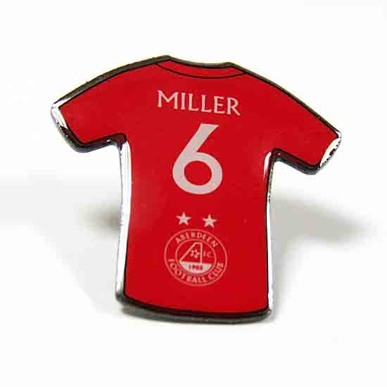 PLAYER PINBADGE - MILLER