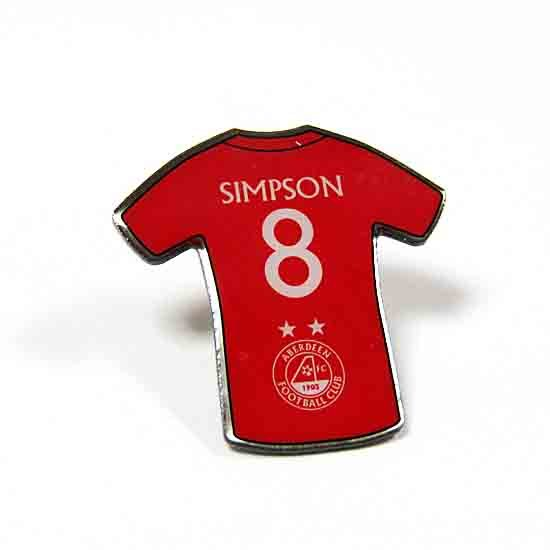 PLAYER PINBADGE - SIMPSON
