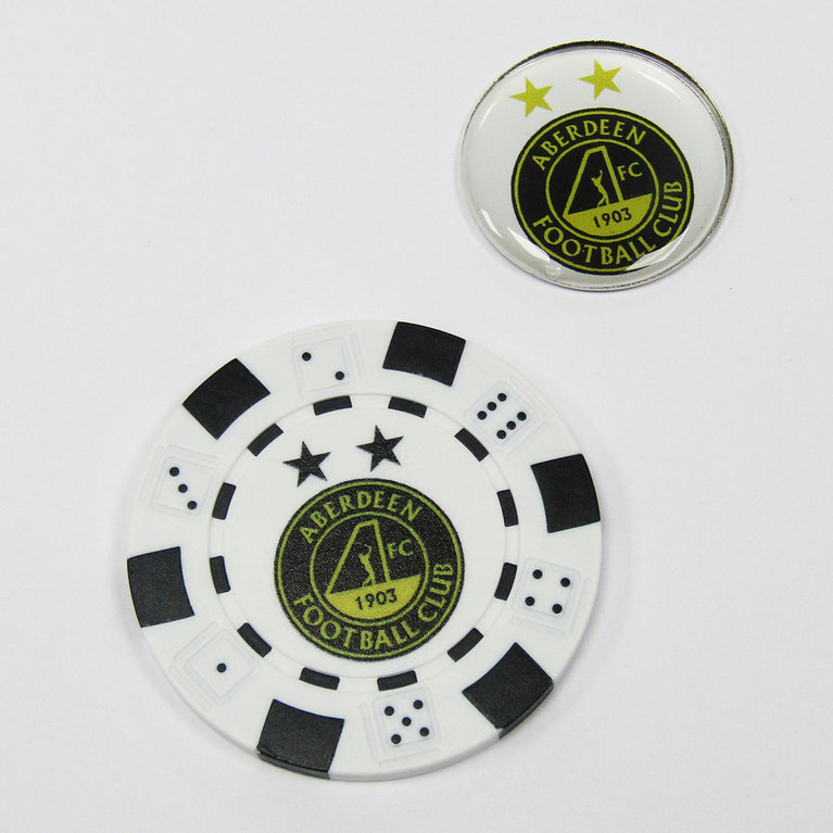 POKER CHIP & ADDITIONAL MARKER