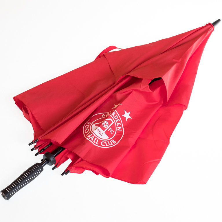 RED TWIN CANOPY GOLF UMBRELLA