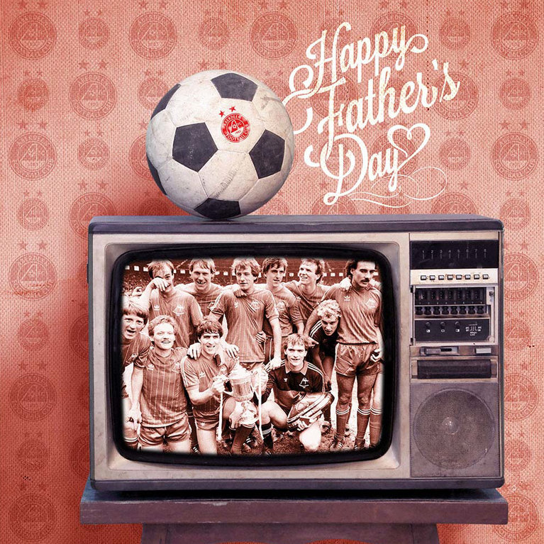 RETRO FATHERS DAY CARD