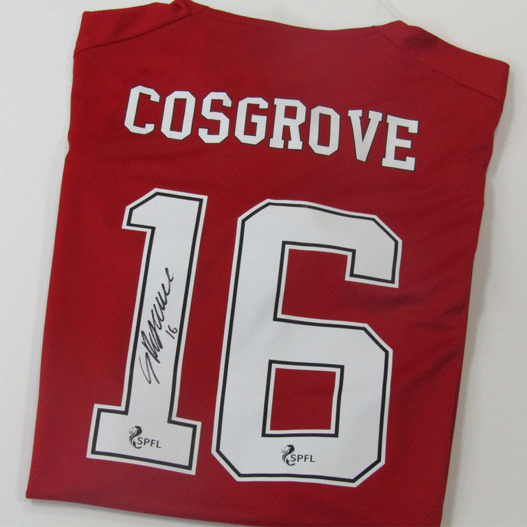 SAM COSGROVE SIGNED HOME SHIRT