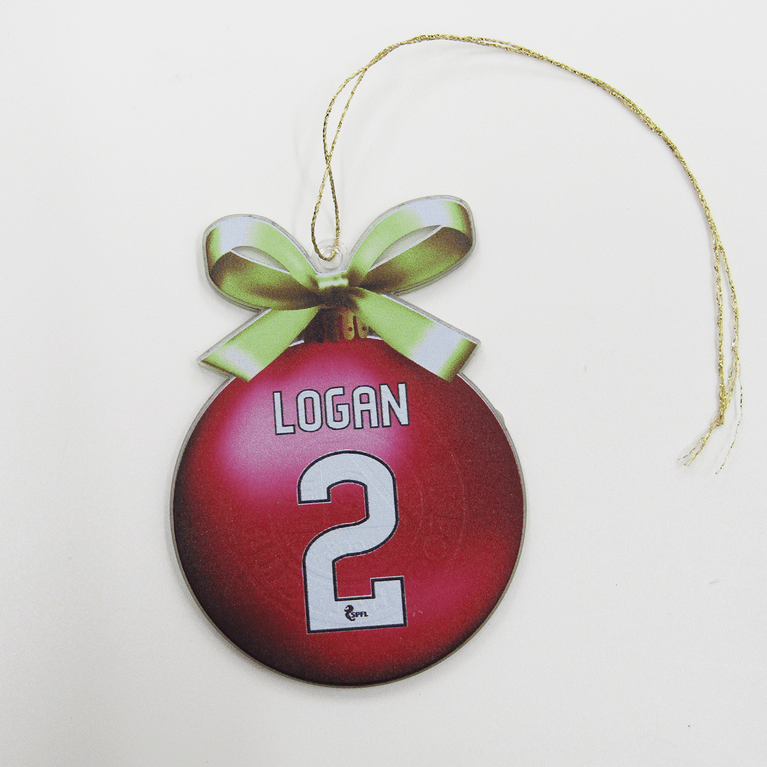 SHAY LOGAN TREE DECORATION