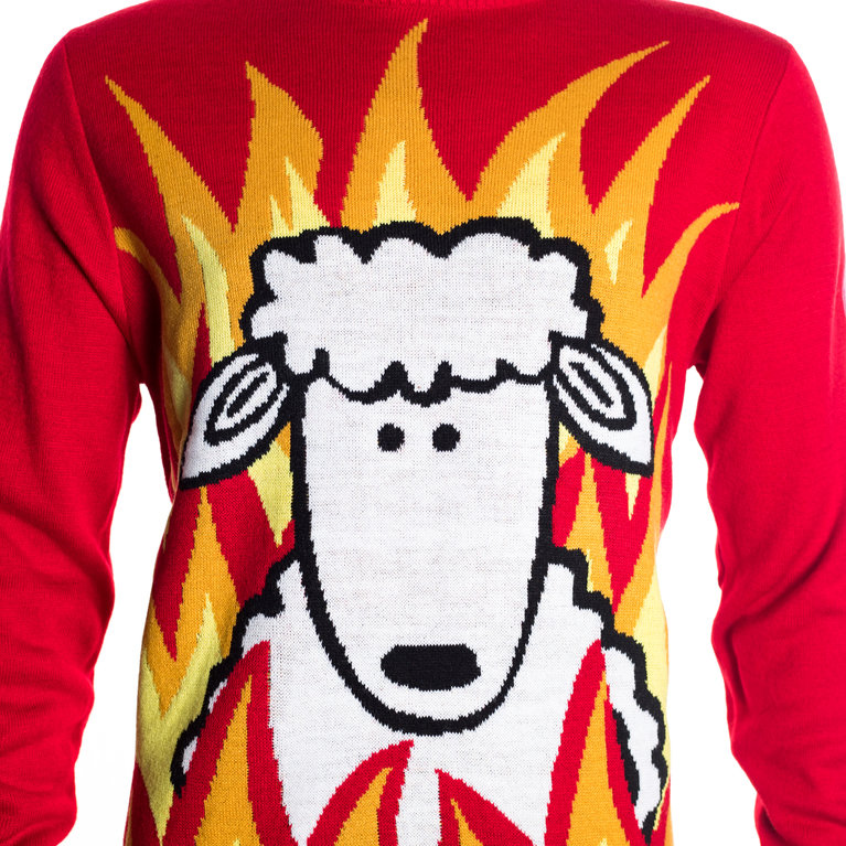 SHEEP CHRISTMAS JUMPER KIDS