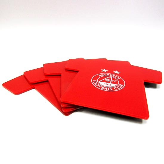 SHIRT COASTERS - 4 PACK