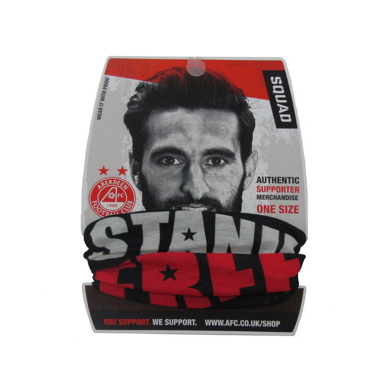 STAND FREE BLACK SQUAD SCARF