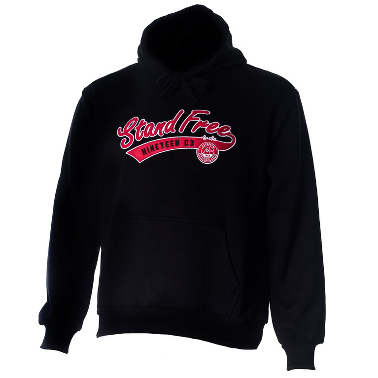 STAND FREE HOODY BLK